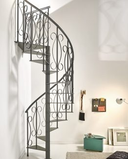 Unique Steel Spiral Staircase